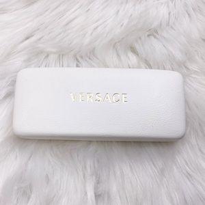 Versace White Sunglass Case